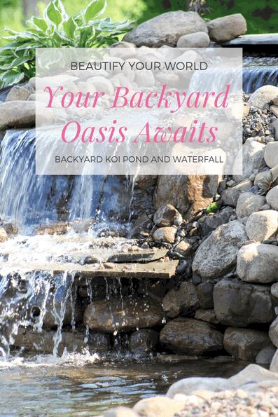 create your backyard oasis