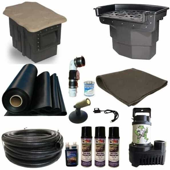 patriot large koi pond kit