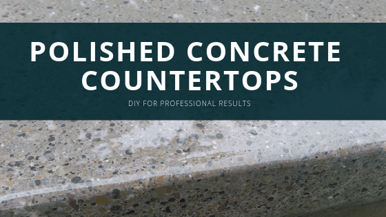 diy polish concrete countertops