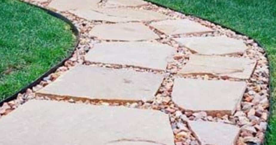 flagstone walk