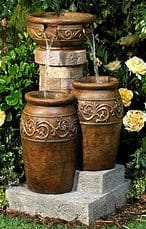tuscan water fountain