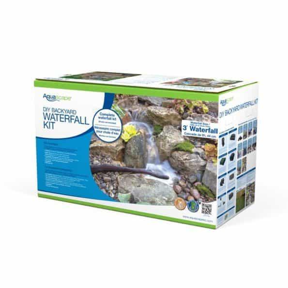 DIY 8x11 pond waterfall kit in box