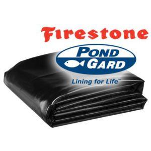 firestone pondguard epdm pre cut rubber pond liner