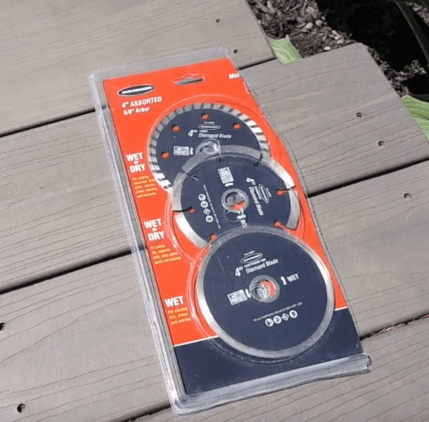 3-pack diamond grinding wheels