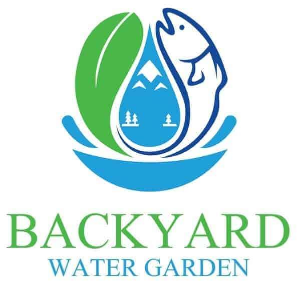 backyard water garden logo