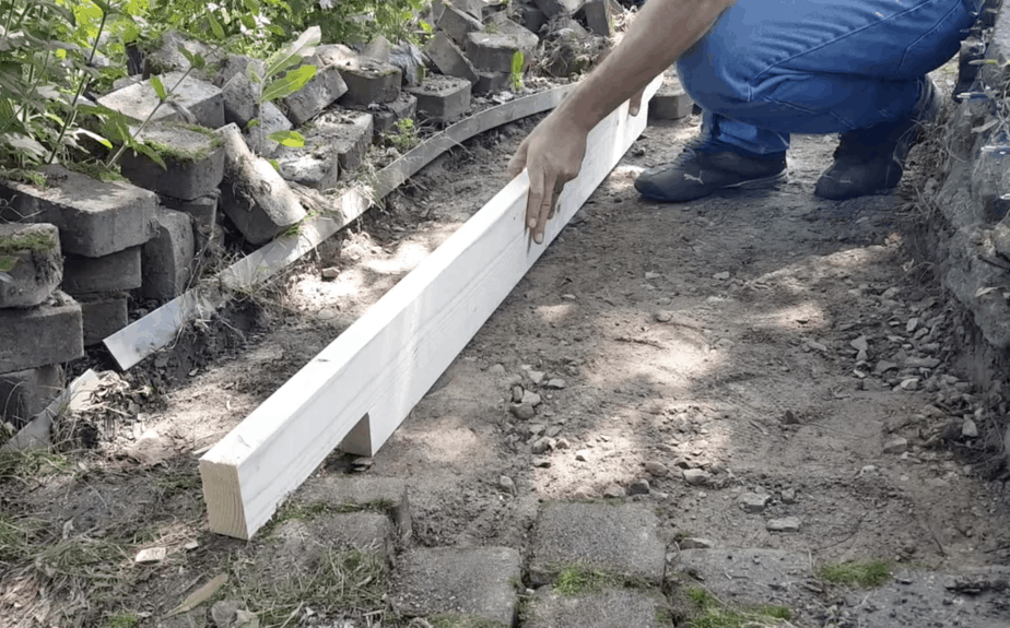 leveling brick walk