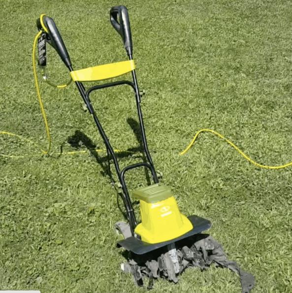 sunjo electric roto tiller cultivator
