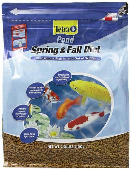 spring and fall koi diet