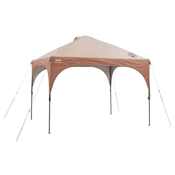 coleman canopy for tailgating in the backyard