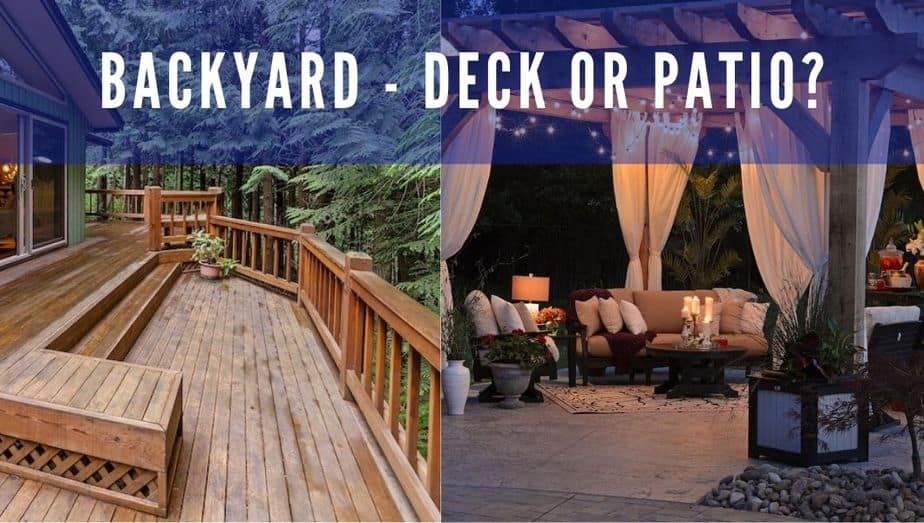 Deck or patio