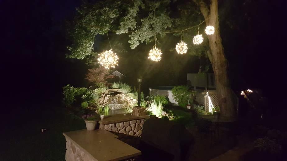 grapevine ball lights